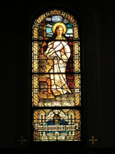 Memorial Window of St. Cecilia