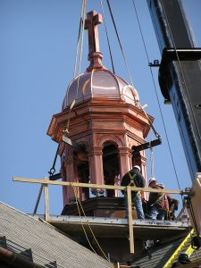 St Stans cupola restoration