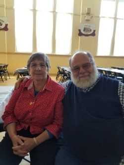 Tom and Mary Lee at 2019 Senior Luncheon