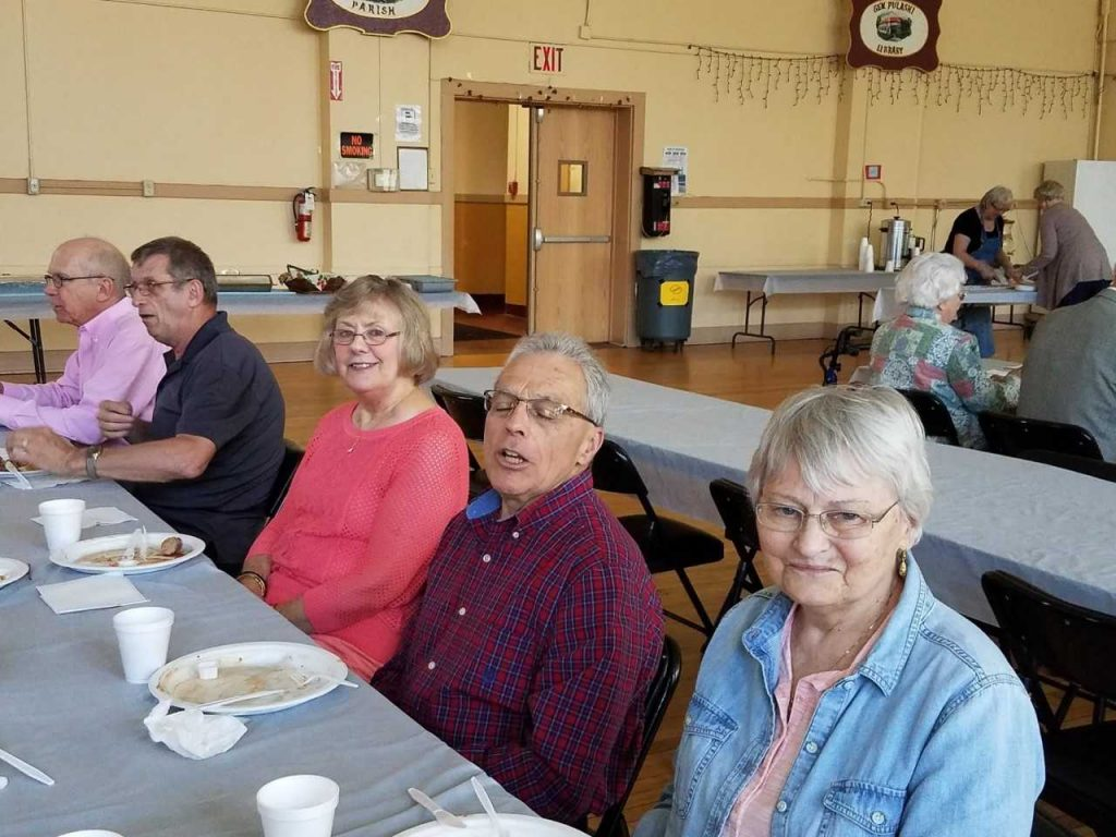 Senior Luncheon Table 1