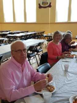 Dan P and Judy C at at 2019 Senior Luncheon
