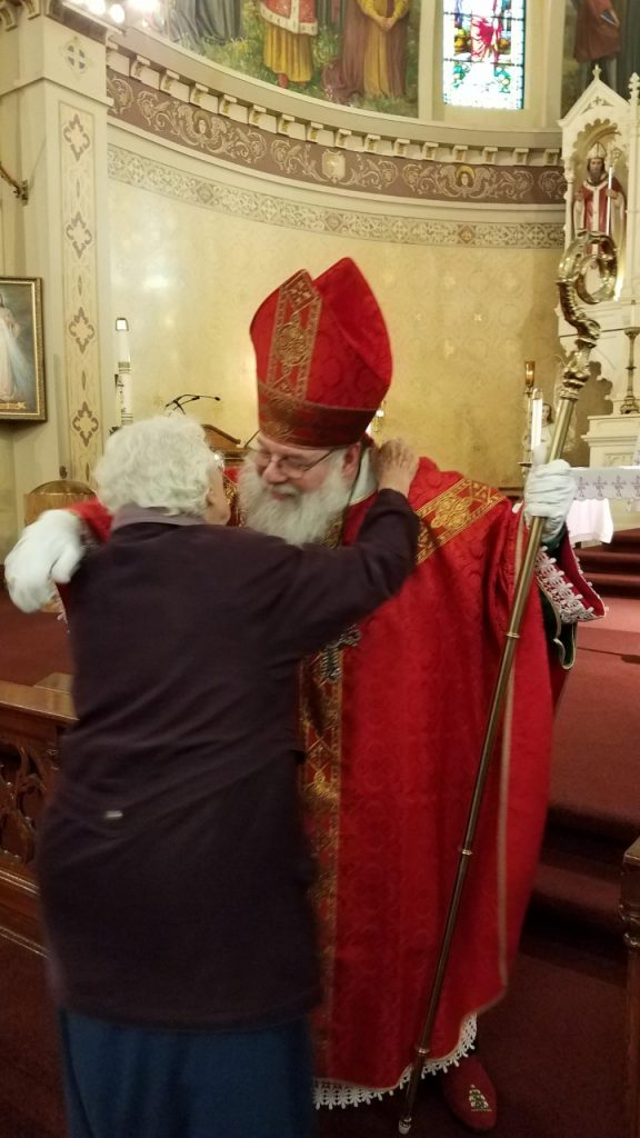 Hugs from St Nicholas