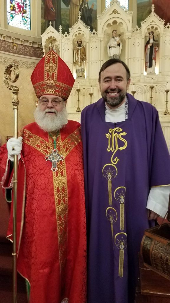 Father Roman and St Nicholas